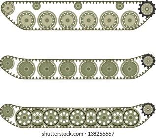 Tank caterpillar