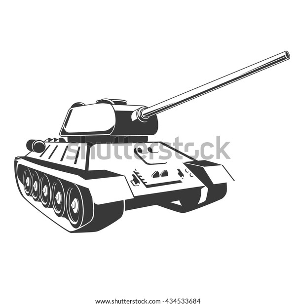 tank isolated on white background vector stock vector royalty free 434533684 https www shutterstock com image vector tank isolated on white background vector 434533684