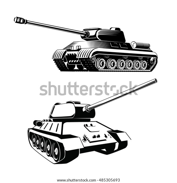 tank isolated on white background vector stock vector royalty free 485305693 https www shutterstock com image vector tank isolated on white background vector 485305693
