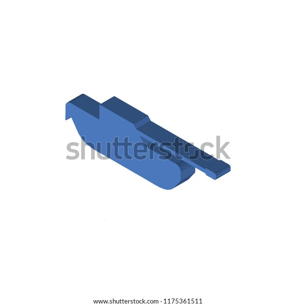 tank isometric left top view 3d stock vector royalty free 1175361511 shutterstock