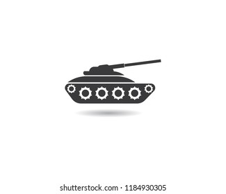 Tank symbol illustration
