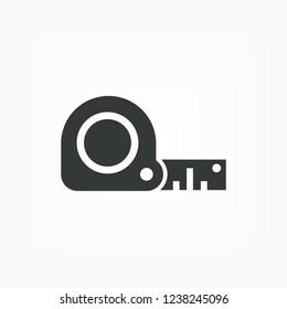 Tape measure icon.