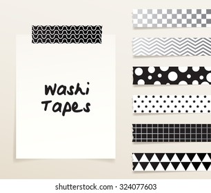 Tape Pattern : Vector Illustration