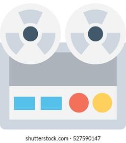 Tape Recorder Vector Icon