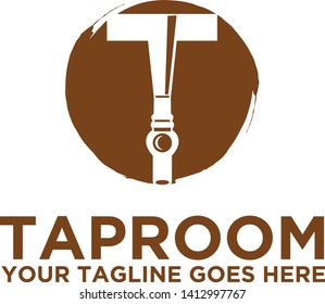 Taproom beer bar brewery logo