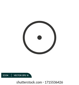 target aim icon illustration vector eps 10