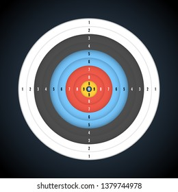 graphic about Printable Archery Targets named Printable Focus Shots, Inventory Illustrations or photos Vectors Shutterstock