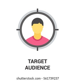 target audience icon.