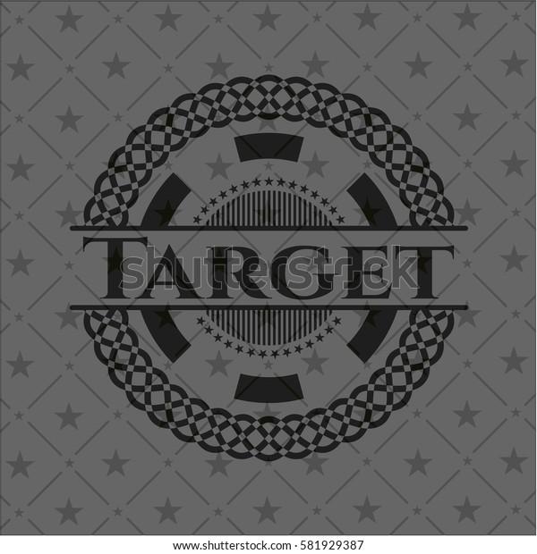 Target dark emblem