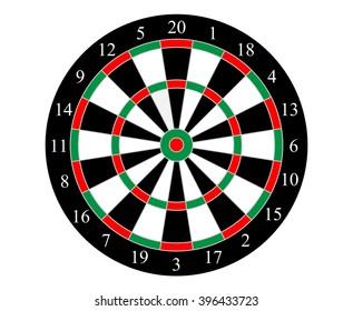 target dart board vector