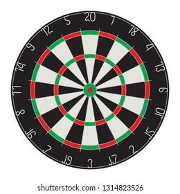 Target for Darts. Darts. Sport.