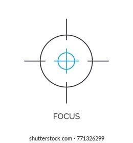 target focus icon