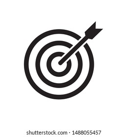 Target Icon, Accurate Icon Vector