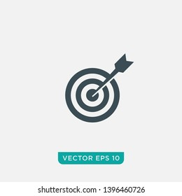 Target Icon Design, Vector EPS10