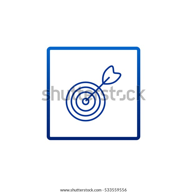 target icon vector.