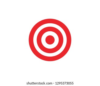 Target icon vector illustration design template