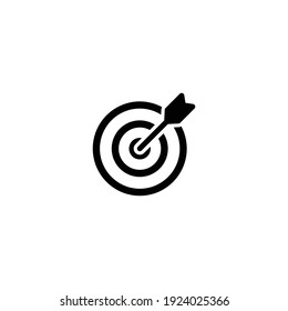 Target icon vector for web, computer and mobile app