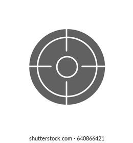 Target Keywords Icon vector