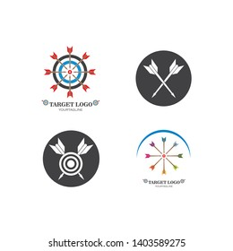 target logo icon vector template design