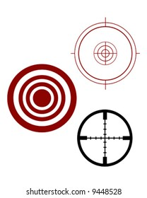 target and scope sights