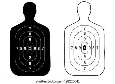 target shoot vector