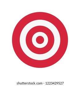 target startup on white background