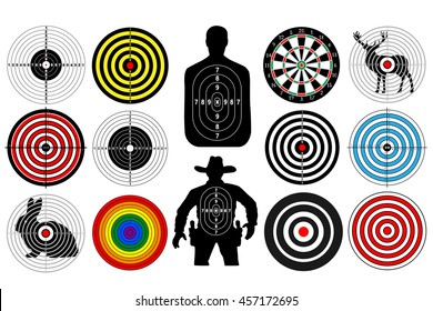Royalty Free Shooting Target Images Stock Photos Vectors