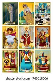 Magician Tarot Card Stock Vectors, Images & Vector Art | Shutterstock