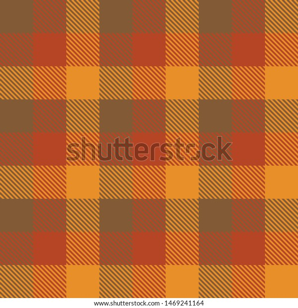 Tartan Fall Seamless Pattern Plaid. Autumn color panel Plaid, Tartan Flannel Shirt Patterns. Trendy Tiles Vector Illustration for Wallpapers.