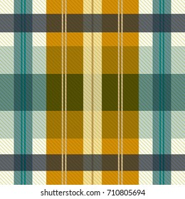 Tartan plaid pattern. Seamless background for print, home decor, textile design, wrapping paper, wallpaper