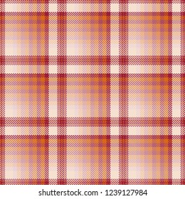 Tartan, plaid pattern seamless vector illustration. Checkered texture for clothing fabric prints, web design, home textile.
