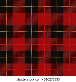 Tartan, plaid pattern seamless vector illustration