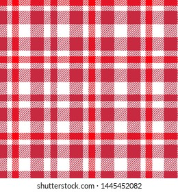 Tartan, plaid pattern vector illustration. Checkered texture for clothing fabric prints, web design, home textile.