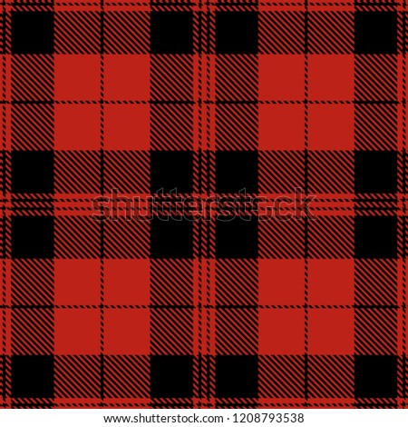 Tartan Plaid Scottish Seamless Pattern Background. Red and Black Color  Wrap. Flannel Shirt Patterns 41f9d39ab
