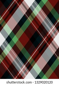 tartan plaid Seamless Scottish pattern