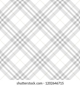 Tartan Seamless Pattern Background in Pastel Grey, Dusty Beige And White  Color  Plaid.  Flannel Shirt Patterns. Trendy Tiles Vector Illustration for Wallpapers.