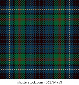 Tartan Seamless Pattern Background. Red, Blue, Black and Green Plaid, Tartan Flannel Shirt Patterns. Trendy Tiles Vector Illustration for Wallpapers.