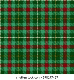 Tartan Seamless Pattern Background. Red,  Green,  Yellow  and  White Plaid, Tartan Flannel Shirt Patterns. Trendy Tiles Vector Illustration for Wallpapers.