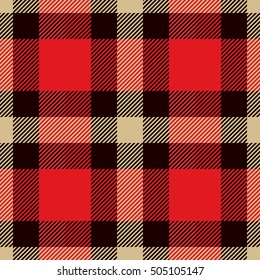 Tartan seamless pattern. Trendy illustration for wallpapers. Tartan plaid inspired background. Suits for decorative paper, fashion design and house interior design, as well as for hand crafts and DIY
