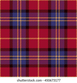 Tartan Seamless Pattern. Trendy Vector Illustration for Wallpapers. Seamless Tartan Tiles. Suits for Decorative Paper, Fashion Design and House Interior Design, as Well as for Hand Crafts