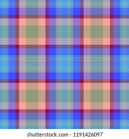 Tartan, seamless plaid, pattern, Vector illustration
