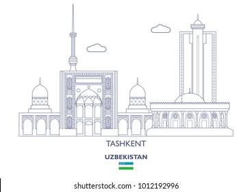 Tashkent Linear City Skyline, Uzbekistan