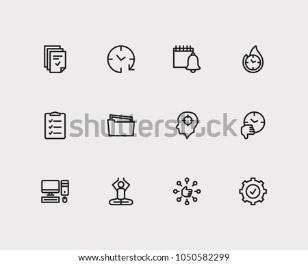 task icons set todo list task stock vector royalty free 1050582299