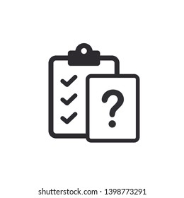 Tasks - vector icon. Clipboard. Profile icon. Clipboard icon. Task done. Signed approved document icon. Project completed. Vector illustration. Color easy to edit. Transparent background.