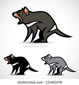Tasmanian devil - vector illustration