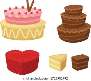 tasty cake for birthday celebration