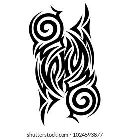 tatoo men tribal, tattoo tribal pattern, tattoos art design swirl vector isolated illustration.