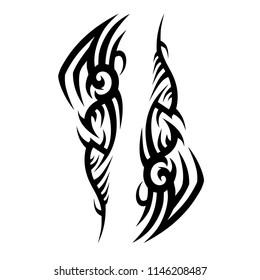 tatoo tribal design shoulder, sleeve pattern tattoo art deco design  swirl pattern style