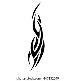 tattoo art tribal designs vector for girl, woman and man, tattoo tribal, tatoo chest simple, abstract flames maori style, fantasy tribal vector