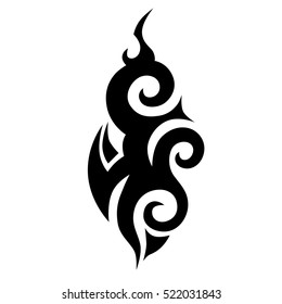tattoo chest sleeve vector, maori logo tattoo, polynesian tattoo pattern, maori style